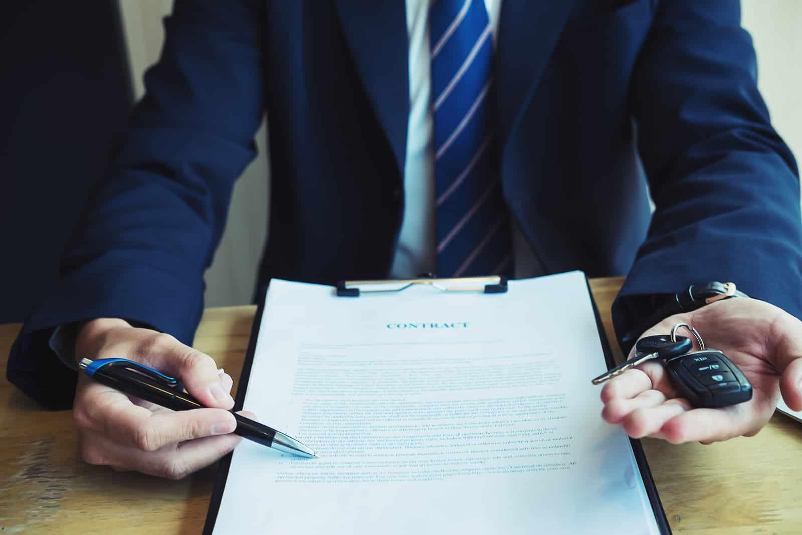 Acte de résiliation du contrat par l'assureur